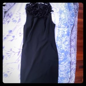 Ruffled neck dress